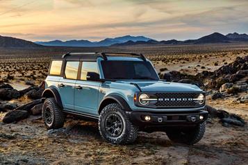 Ford Bronco2021: un rétro bienmoderne)