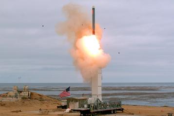 Missile américain testé: Poutine promet une «réponse symétrique»