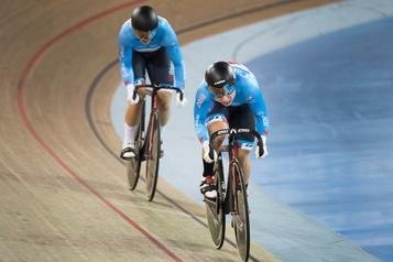 Genest se contente de la septième place à la Coupe du monde de cyclisme sur piste
