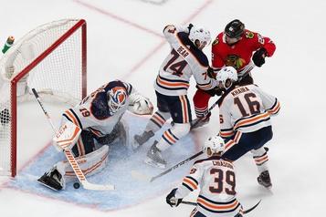 Les Oilers se retrouvent au bord du gouffre)