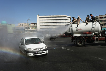 Iran: la propagation ralentit selon les chiffres officiels