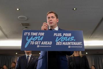 Pas de traitement spécial pour le Québec, dit Andrew Scheer