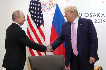 Nouveau format du G7: Trump explique son projet à Poutine)