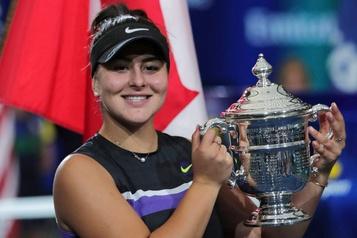 Bianca Andreescu désignée athlète de l'année au Canada