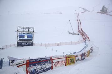 Ski alpin Annulation du super-G féminin de Saint-Moritz dimanche en raison de la météo)