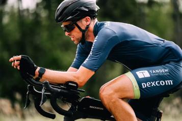 Rien n'a arrêté Sébastien Sasseville lors de sa traversée du Canada en vélo)