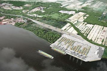 Terminal portuaire à Contrecœur Le projet pourrait aller de l'avant malgré un décret sur le chevalier cuivré )
