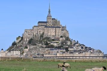 Le Mont-Saint-Michel en travaux pour trois ans)