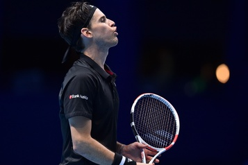 Masters de Londres Thiem s'impose encore sur Nadal au bris d'égalité)