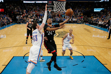 Les Raptors battent le Thunder par 9 points