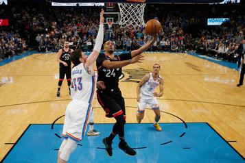 Les Raptors battent le Thunder par 9 points