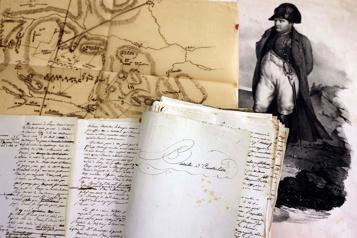 Un manuscrit annoté par Napoléon en vente à Paris)