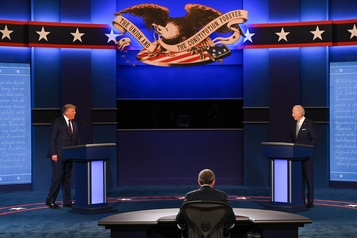 Premier débat pour la présidentielle Les impôts payés par Trump à l'avant-plan)