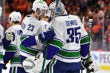 Victoire des Canucks contre Flyers en tirs de barrage