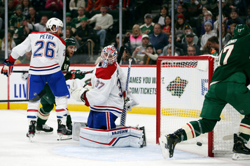Le Canadien s'incline 4-3 contre le Wild
