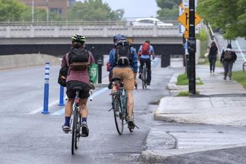 Données des compteurs des pistes cyclables Le Réseau express vélo cartonne)