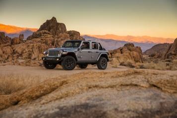 Jeep dévoile la fourchette de prix de son Wrangler enfichable)