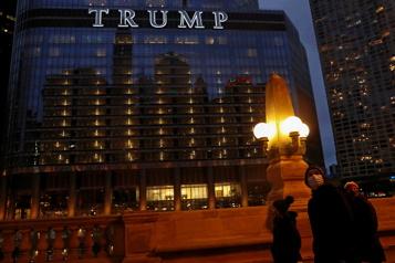 La marque Trump en péril après une présidence chaotique)