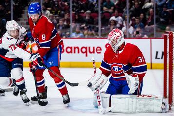 Les Capitals battent le Canadien4-2