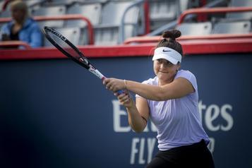 Bianca Andreescu de retour au boulot