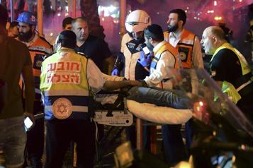 Pluie mortelle de roquettes vers Tel-Aviv, 30Palestiniens tués à Gaza)