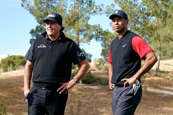 Tiger Woods et Phil Mickelson croiseront le fer)