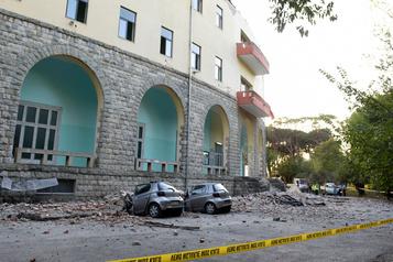 Fort séisme ressenti en Albanie