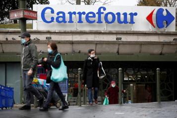 Intérêt de Couche-Tard envers Carrefour Refus «clair et définitif» du gouvernement français )