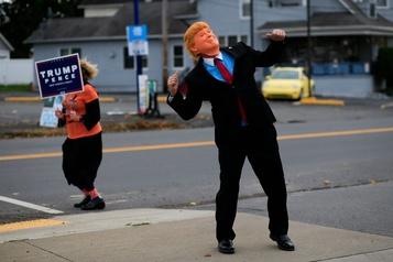 Trump, après la tragédie, lafarce? )