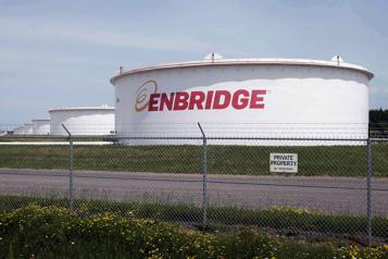 Recul de 15% du profit d'Enbridge, à 1,39milliard)