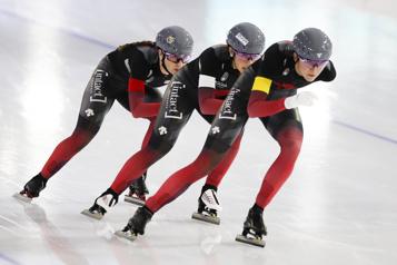 Patinage de vitesse Une victoire «significative» pour les Canadiennes)