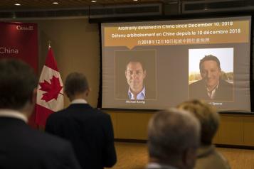 Michael Kovrig et Michael Spavor de retour au Canada )