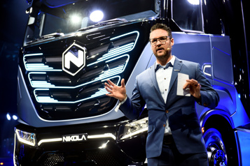 Nikola livrera moins de camions électriques que prévu en 2021)