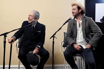 Adam et Leonard Cohen: uneultimeétreinte
