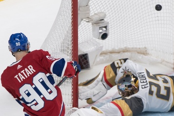 Golden Knights 4– Canadiens 5: deux points et puis s'en vont