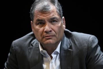 L'ex-président de l'Équateur Rafael Correa condamné à huit ans de prison pour corruption