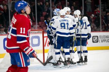 Le Lightning, opportuniste, défait le Canadien 3-1