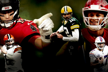 Les séries éliminatoires de la NFL Des places dans lecarréd'as en jeu)