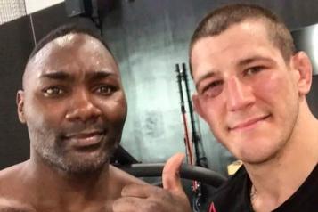 UFC260 Marc-André Barriault veut laisser sortir sa rage)