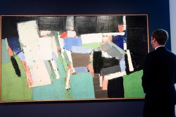 Record pour un tableau de Nicolas de Staël adjugé 29millions$