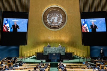 La Chine accuse Trump de «propager un virus politique» à l'ONU)