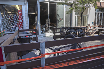 Incendie suspect dans un restaurant du centre-ville)