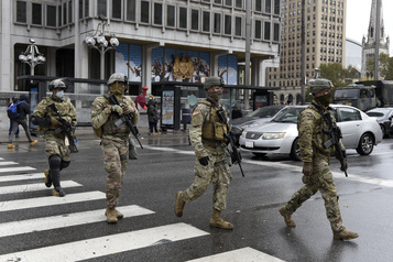 Philadelphie à nouveau sous couvre-feu, la Garde nationale déployée)