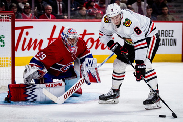 Blackhawks 4 - Canadien 1 (pointage final)