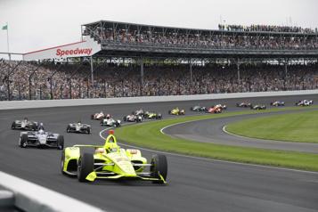 L'Indy500 accueillera 135000personnes en mai)