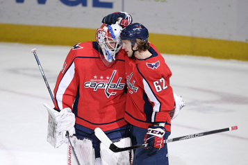 Gain de 5-2 des Capitals face aux Penguins)