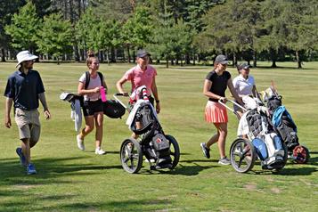 Fred Colgan vise un Centre national de golf à Québec)