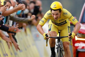 Tour d'Espagne Neige et COVID-19 sur la route du maillot rouge)