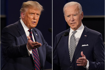 Débat entre Donald Trump et Joe Biden Suivez notre couverture en direct dès 20h)