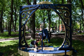 La sentinelle  L'OSM résonne au parc Saint-Paul)